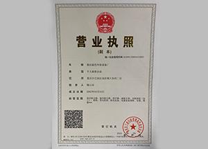 荣誉资质-重庆蓝色环保
